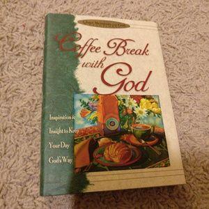 Coffee break with God devotional Christian book